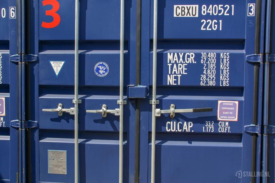 ik wil opslagruimte huren container opslag
