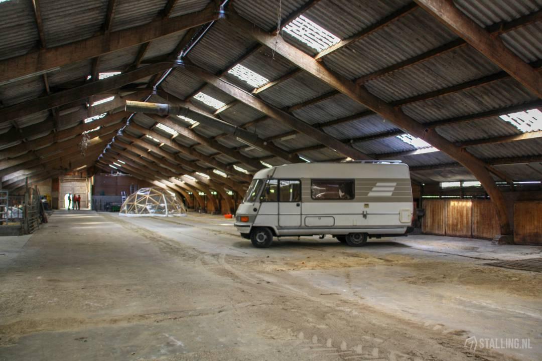 caravanstalling fochteloo stalling voor campers in friesland
