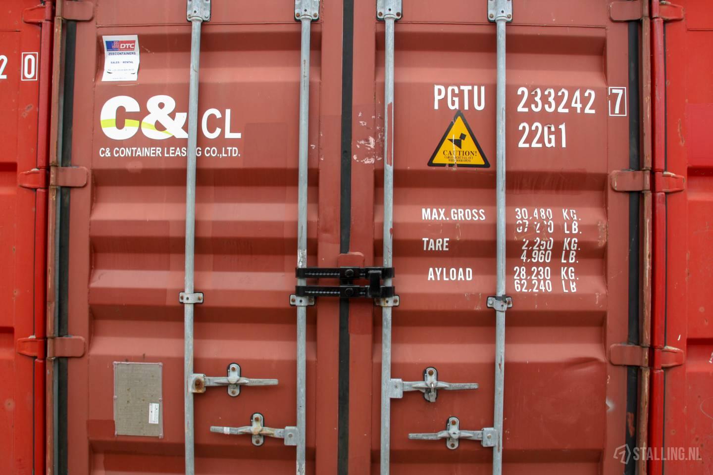 mini-box goed beveiligde opslagcontainers