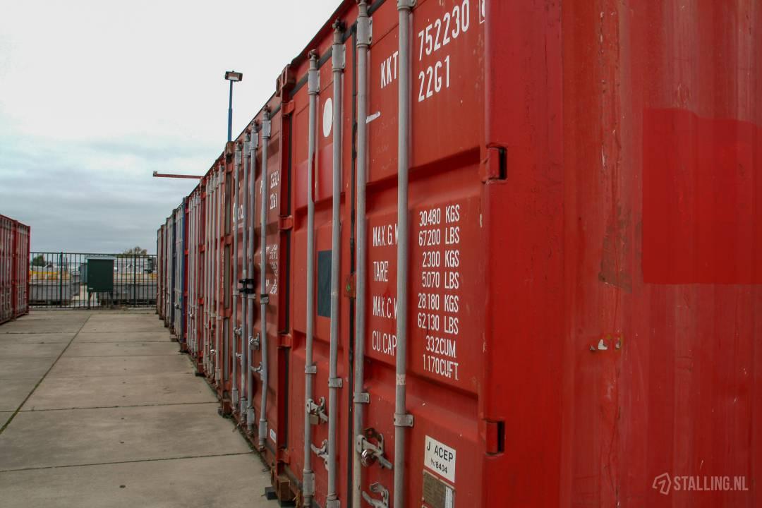 mini-box buiten opslagruimte in zuidland