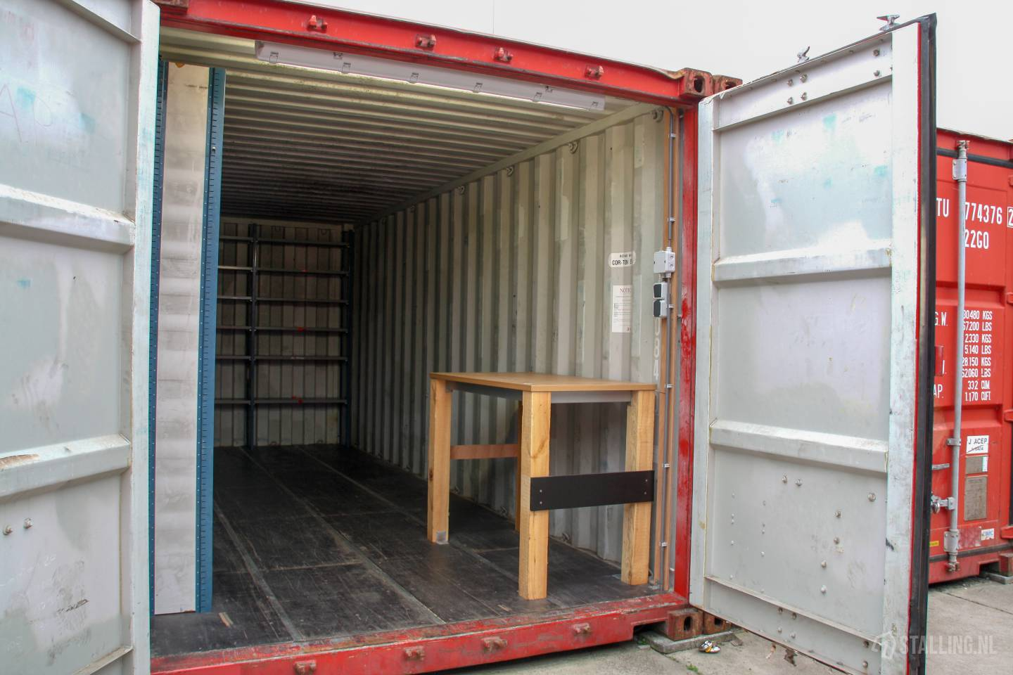 mini-box opslag in container rond spijkenisse