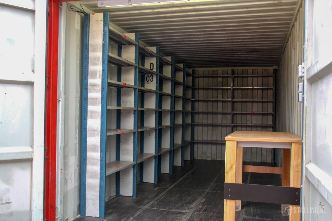 mini-box opslagcontainer voor bedrijf huren