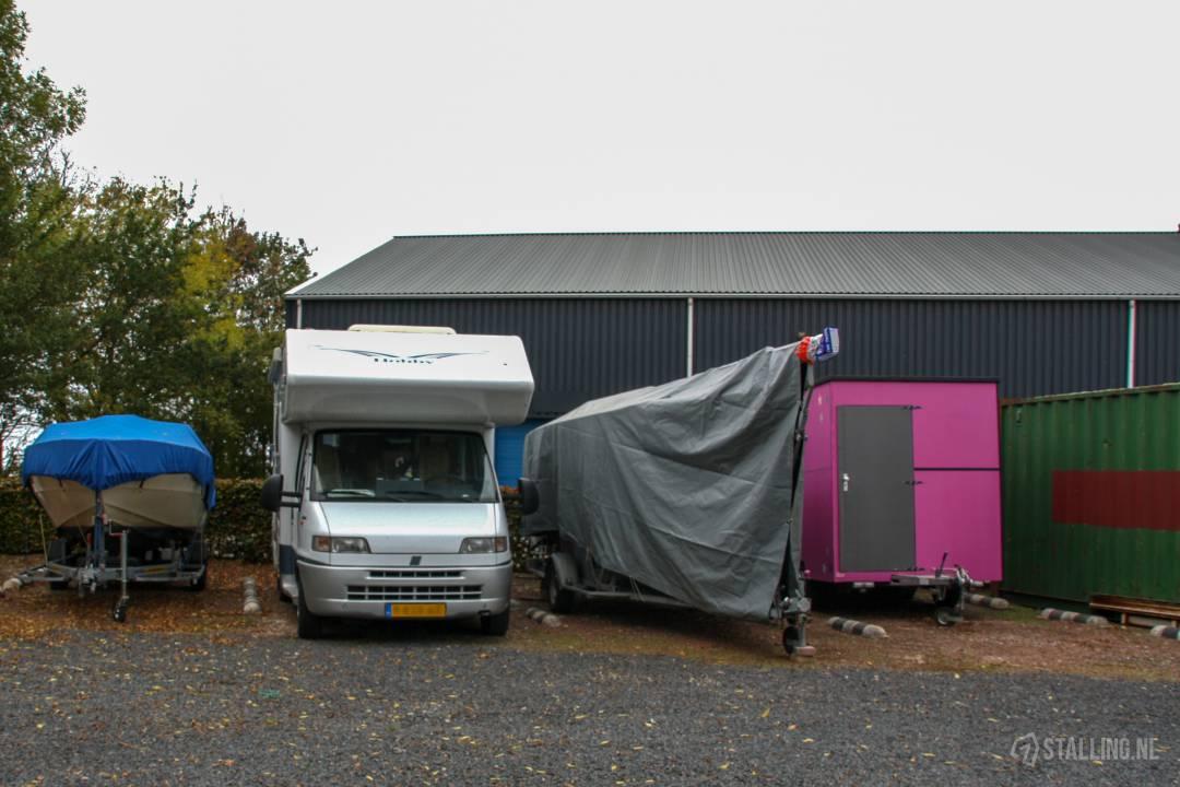 mini-box buitenstalling vouwwagens