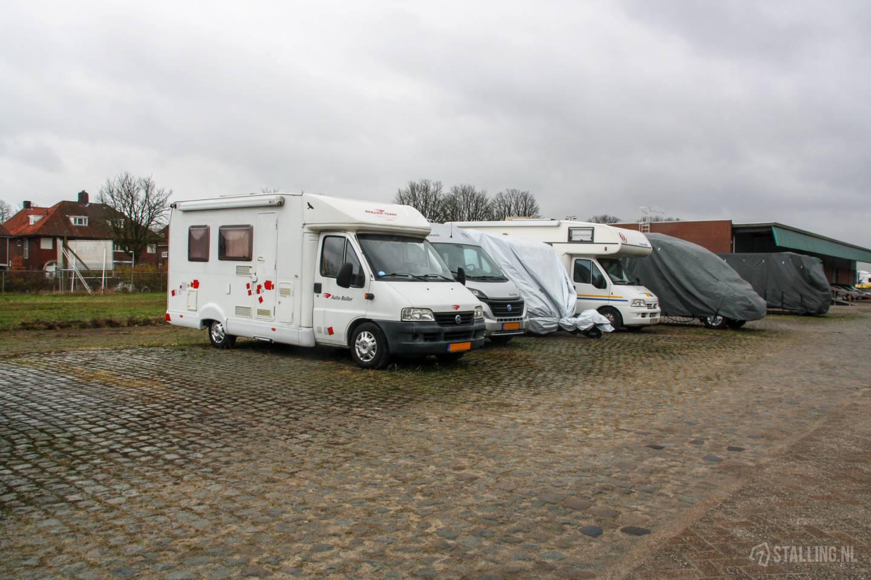 safe ruimteverhuur afgesloten buitenstalling voor campers