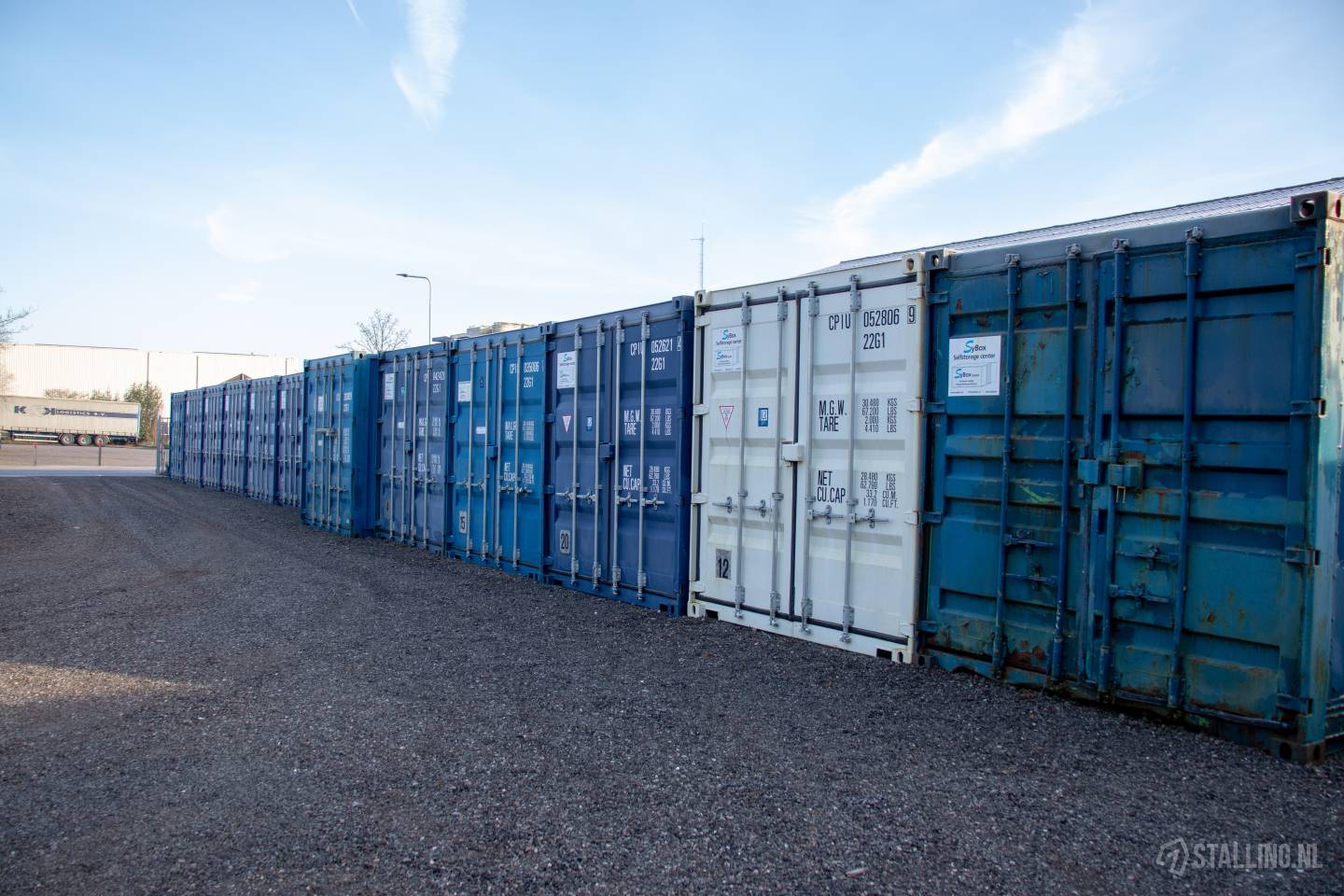 sybox self storage opslag container huren joure