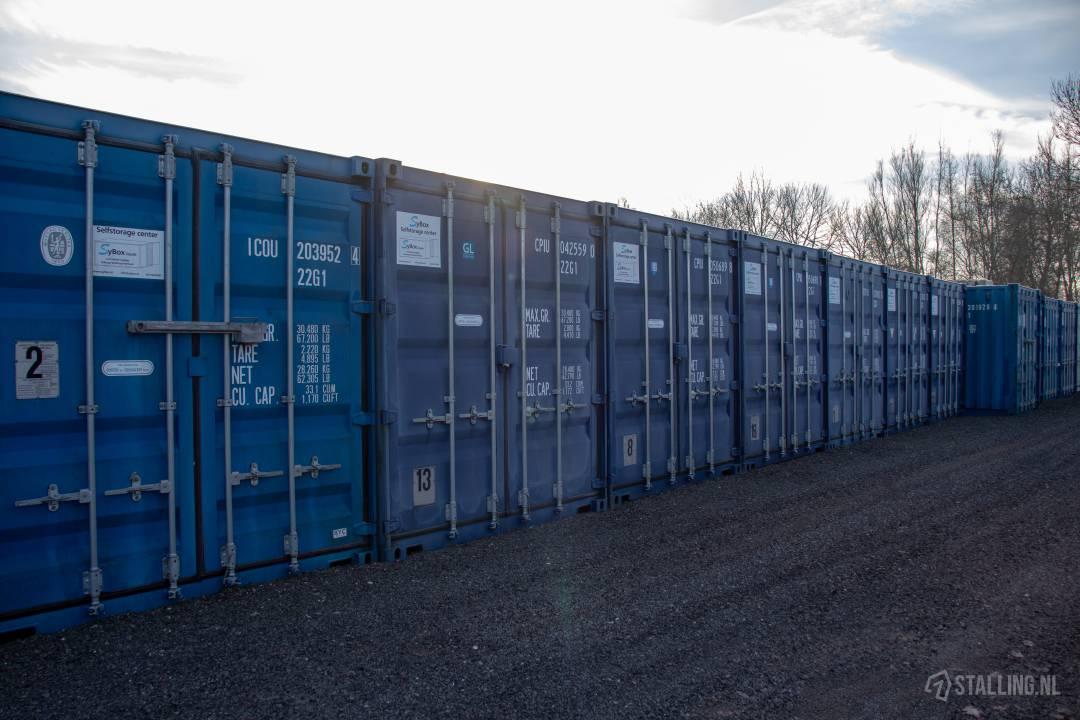sybox self storage opslagruimte buiten huren joure