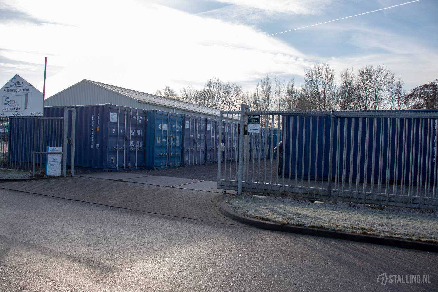 sybox self storage containeropslag joure friesland
