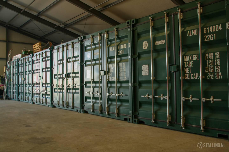 boot- en caravanstalling zeeland container