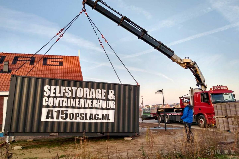a15 opslag container voor verhuizing regio utrecht