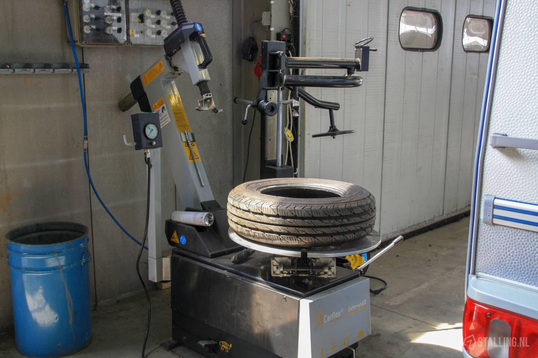 barsema stalling & onderhoud onderhoud vouwwagen