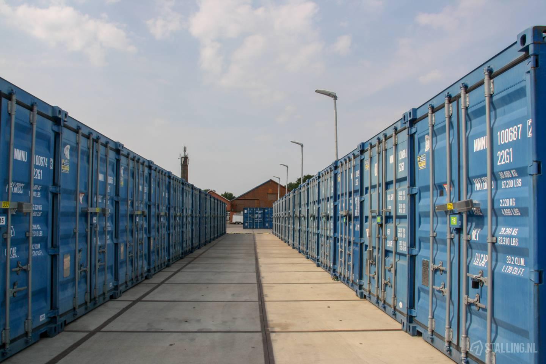 de koornwaard opslagcontainer huren
