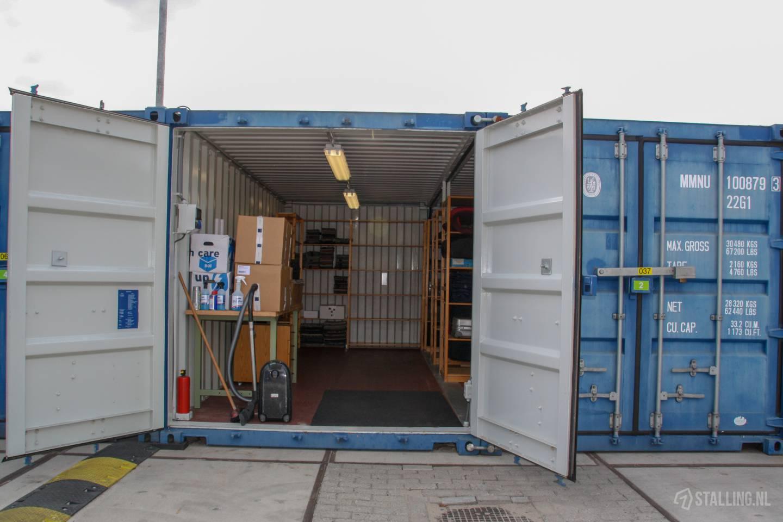 de koornwaard opslagcontainer
